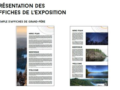 Projet 3, proposition d'affiches pour exposition